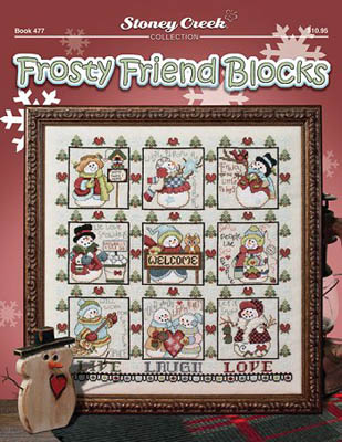 click here to view larger image of Frosty Friend Blocks (chart)