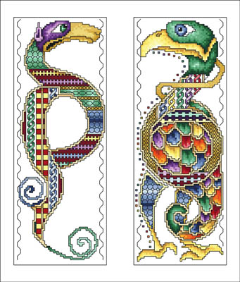 click here to view larger image of Celtic Animals (chart)