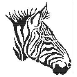 click here to view larger image of Tribal Zebra (chart)