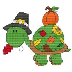 click here to view larger image of Calendar Turtle Thanksgiving (chart)