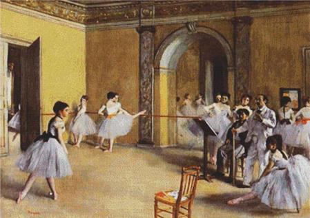 click here to view larger image of Dance Class at the Opera (chart)