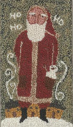 click here to view larger image of Ho Ho Ho Santa - Punchneedle (Punchneedle)