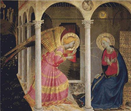 click here to view larger image of Annunciation (chart)