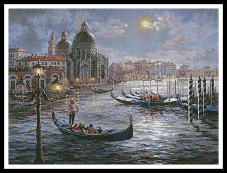 click here to view larger image of Grand Canal Venice Painting  (Nicky Boehme) (chart)
