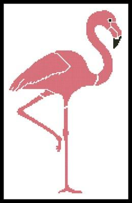 click here to view larger image of Pink Flamingo (chart)