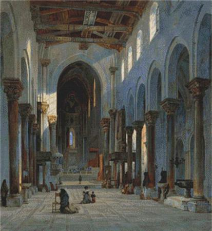 click here to view larger image of Cathedral of Cefalu, Interior (chart)