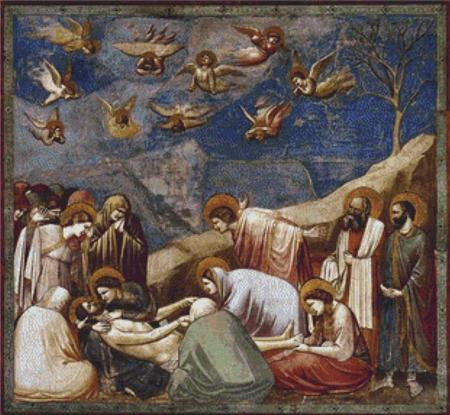 click here to view larger image of Lamentation (the Mourning of Christ) (chart)