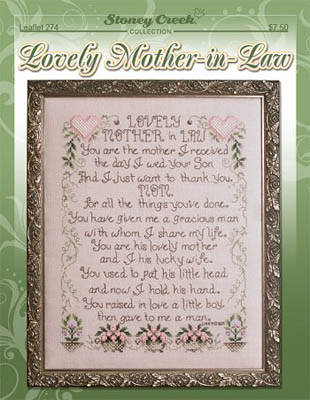 click here to view larger image of Lovely Mother In Law (chart)