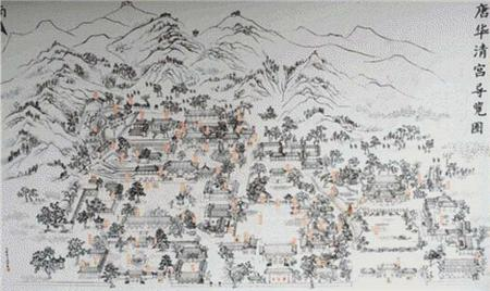 click here to view larger image of Huaqing Hot Springs (chart)