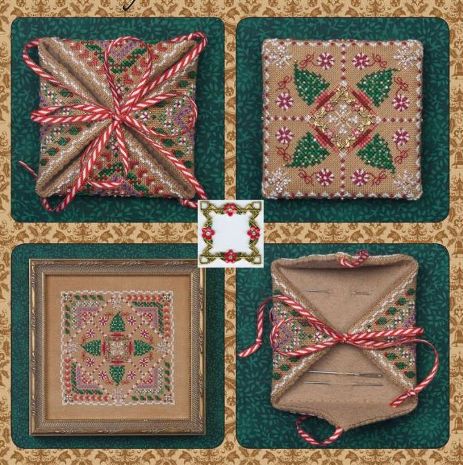 click here to view larger image of Gingerbread Needle Case (Limited Quantity) EXCLUSIVE TO ABC STITCH THERAPY (counted cross stitch kit)
