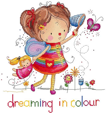 click here to view larger image of Dreaming in Color (chart)