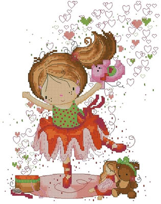 click here to view larger image of Little Dancer (chart)
