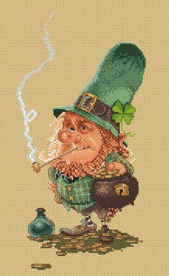 click here to view larger image of Leprechaun - (Jean-Baptiste Monge) (chart)