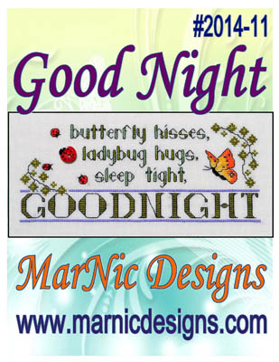 click here to view larger image of Good Night (chart)