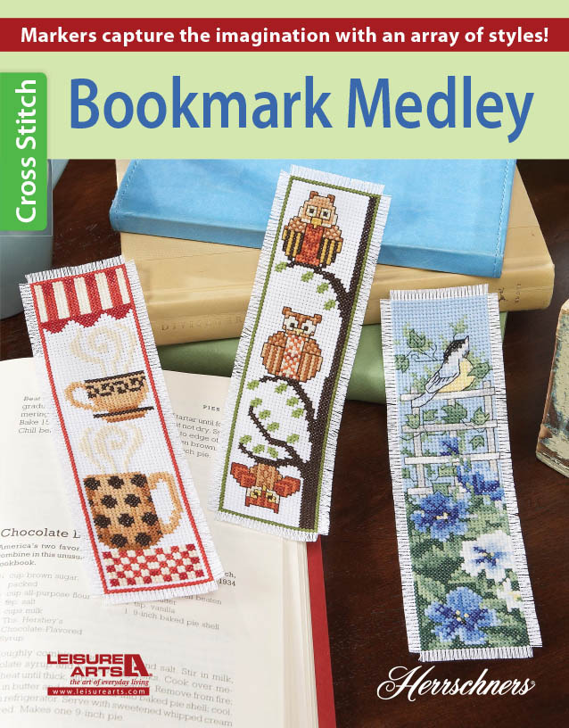 click here to view larger image of Bookmark Medley (chart)