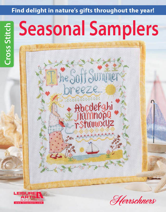 click here to view larger image of Seasonal Samplers (book)