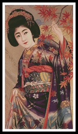 click here to view larger image of Japanese Beauty (chart)