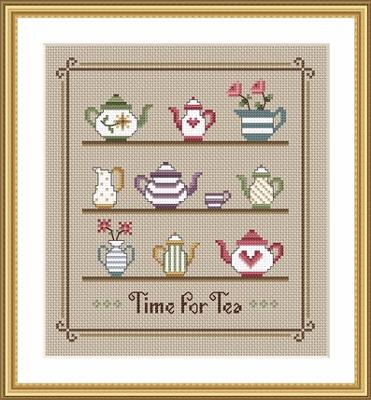 click here to view larger image of Time For Tea (chart)