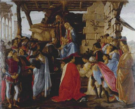 click here to view larger image of Adoration of the Magi, The (chart)
