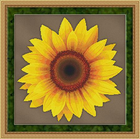 click here to view larger image of Big Sunflower (chart)