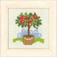 click here to view larger image of Apple Tree Mini Kit (counted cross stitch kit)