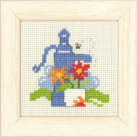 click here to view larger image of Garden Mini Kit (counted cross stitch kit)