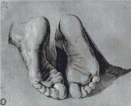 click here to view larger image of Feet of an Apostle (chart)
