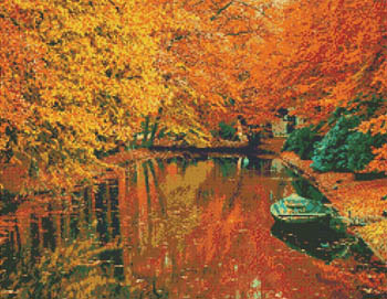 click here to view larger image of Autumn Boat Ride (chart)