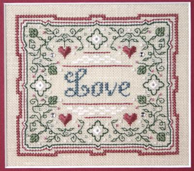 click here to view larger image of Love - Wishes for You Series 2 (counted cross stitch kit)