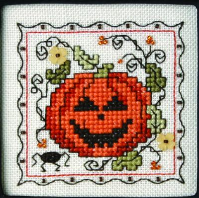 click here to view larger image of Teenie Tiny Halloween 3 (chart with charms/buttons)