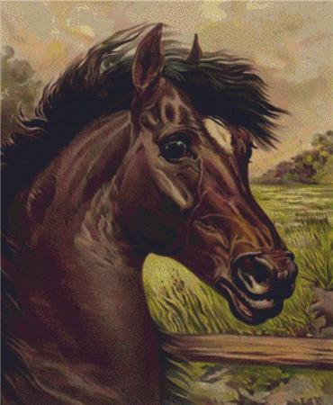 click here to view larger image of Vintage Horse (chart)