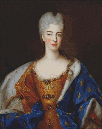 click here to view larger image of Elisabeth Charlotte d'Orleans (chart)