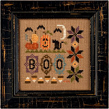 click here to view larger image of A Little Boo (Kit) (counted cross stitch kit)