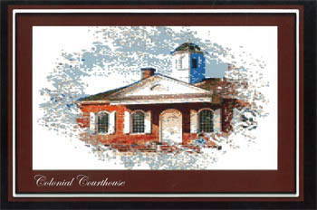 click here to view larger image of Colonial Courthouse - Colonial Series 1 (chart)