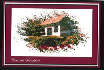 click here to view larger image of Colonial Woodshed (chart)