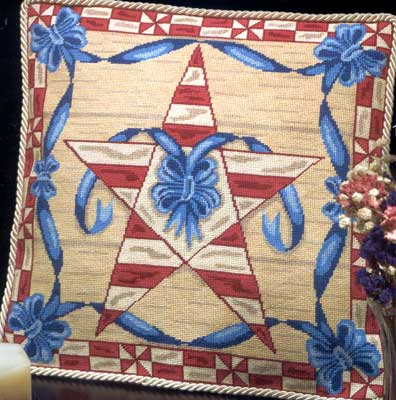 click here to view larger image of Americana Star (needlepoint)