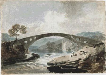 click here to view larger image of Bridge at Pontypridd, The (chart)