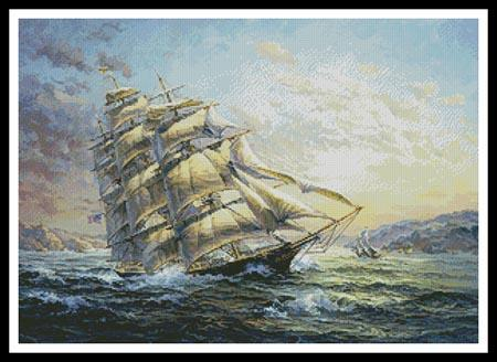 click here to view larger image of Clipper Ship Surprise (chart)