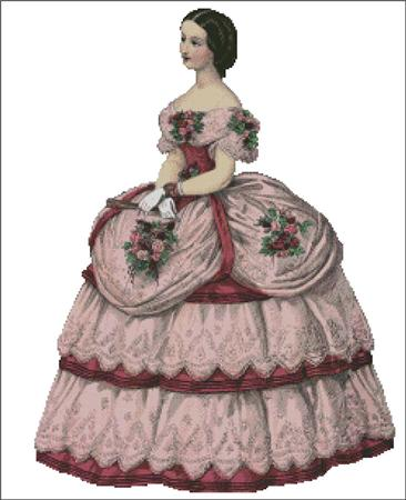 click here to view larger image of Olivia - Belle of the Ball Series 2 (chart)