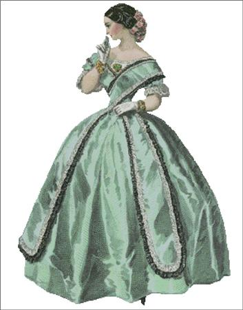 click here to view larger image of Mary Louise - Belle of the Ball Series 2 (chart)