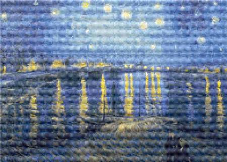 click here to view larger image of Starry Night Over the Rhone (chart)