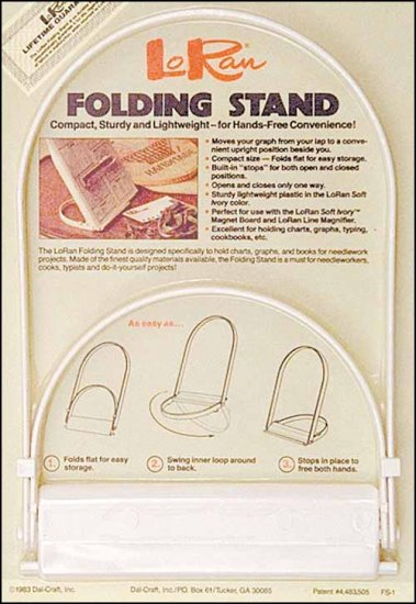 click here to view larger image of LoRan Folding Stand (accessory)