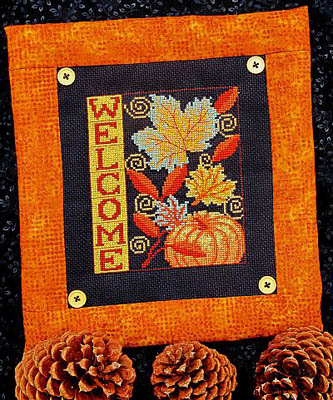 click here to view larger image of Autumn Welcome (chart)