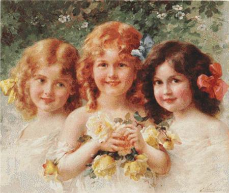 click here to view larger image of Three Sisters  (Emile Vernon) (chart)