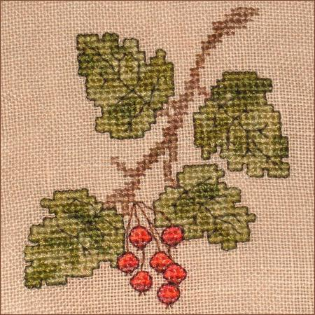 click here to view larger image of Autumn Leaves Wall Quilt Block C (chart)