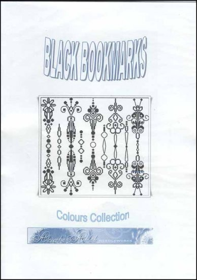click here to view larger image of Black Bookmarks (chart)