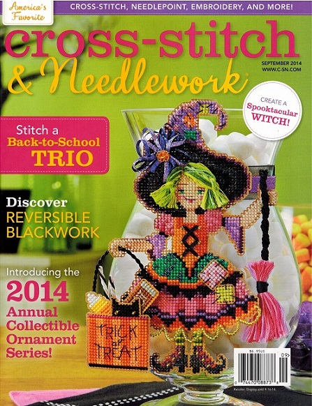 click here to view larger image of Cross Stitch & Needlework Magazine - September 2014 (magazines)