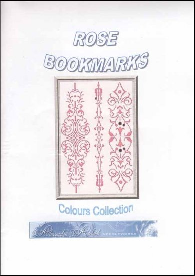 click here to view larger image of Rose Bookmarks (chart)