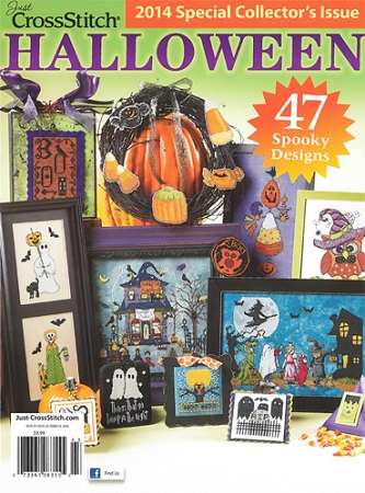 click here to view larger image of Just Cross Stitch  -  2014 Halloween Collectors Issue (magazines)