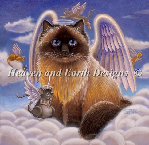 click here to view larger image of Heavenly Companions (chart)